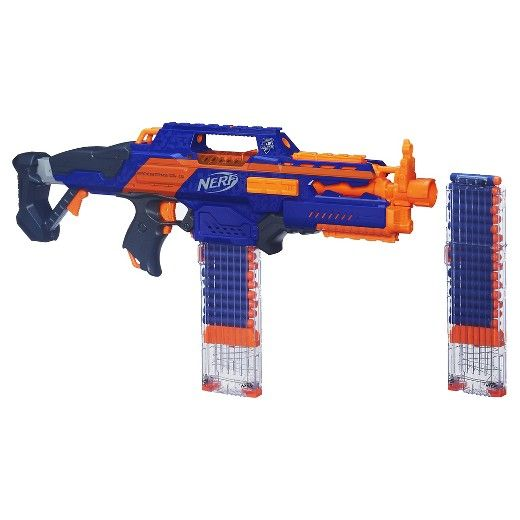 nerf n strike elite rapidstrike cs 18 blaster blue pbt all the way pinterest. Black Bedroom Furniture Sets. Home Design Ideas
