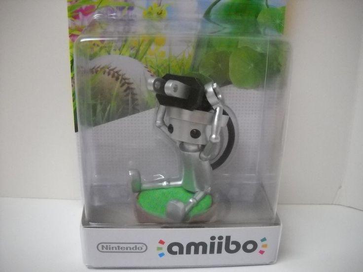 New Nintendo 3DS WiiU Amiibo Chibi Robo US #Nintendo