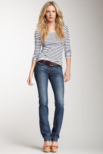 Nikki Straight Leg Jean by David Kahn on @HauteLook