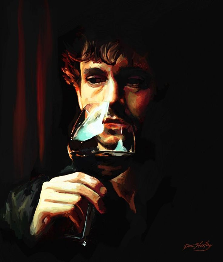 Hannibal Fan Art / Will Graham by @dori_hartley
