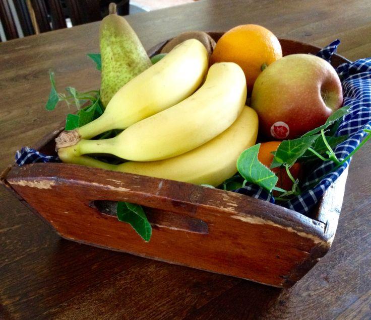 Fruit in oma's oude schillenbakje