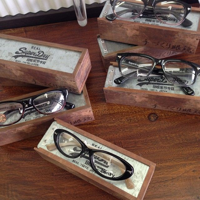Superdry optical frames at our James St, Burleigh Heads store. Love the cases they come in too!