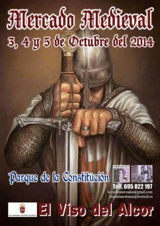 03 de Octubre al 05 de Octubre - Mercado medieval en el Viso del Alcor, #Sevilla http://mercadillosmedievales.com/ultimas-noticias/2568-03-de-octubre-al-05-de-octubre-mercado-medieval-en-el-viso-del-alcor-sevilla