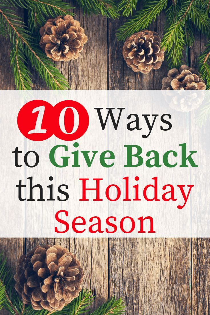 10 Awesome Ways For You And Your Family To Give Back To Your Community Christmas Activities For Families Christmas Activities For Kids Giving Back