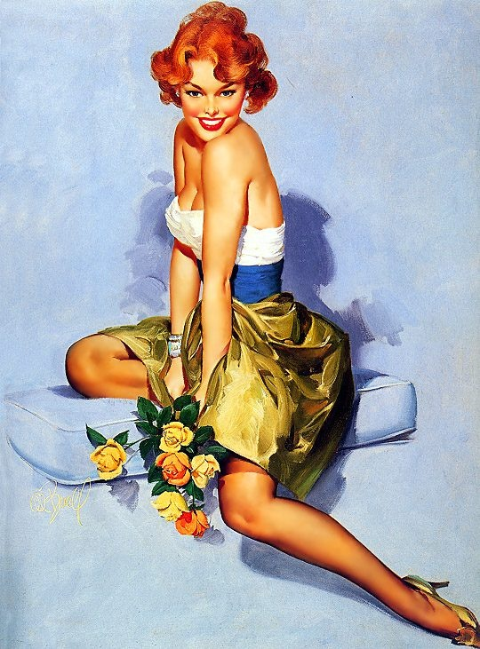 Italian Pin ups: Red Hair, Vintage Pin, Al Buell, Pinupgirl, Pin Up Art, Pinup Girls, Redheads, Red Head, Pin Up Girls