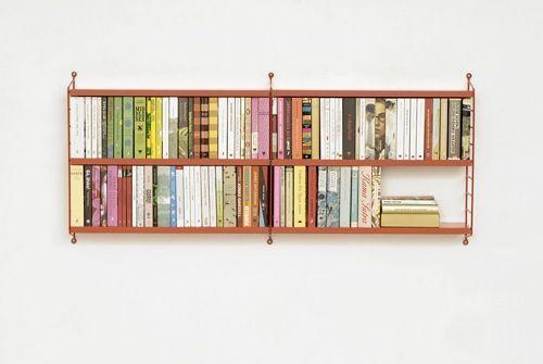 Wall-Mounted Bookshelves