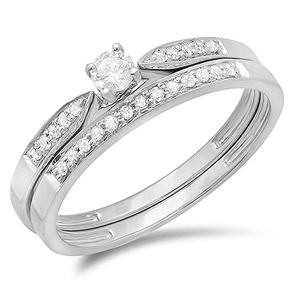 95 best Wedding Ring Sets images on Pinterest 40 years Fashion