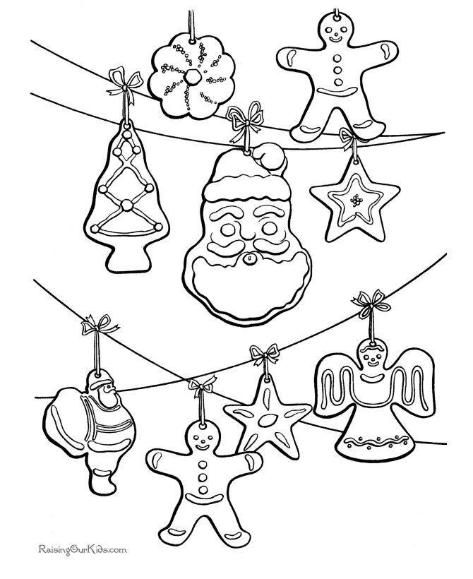 Christmas Ornament Coloring Pages Another Picture And Gallery About Free Ornaments Printables