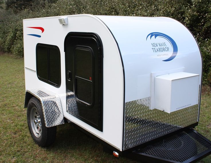 New Wave Teardrop Mini Campers is a small custom mini travel trailer builder located in Bainbridge, Georgia building affordable and quality travel trailers.