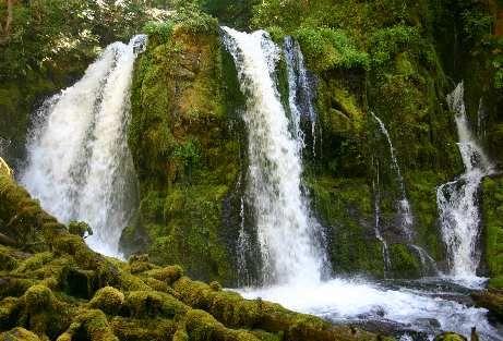 Oregon Waterfalls - Upper Downing Creek Falls