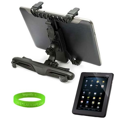 #nice Durable Tablet Car Mount PC Computer Tablet Backseat Headrest Mount for Vizio 8 Inch Honeycomb Tablet   Live * Laugh * VanGoddy Love Wrist Band!!!