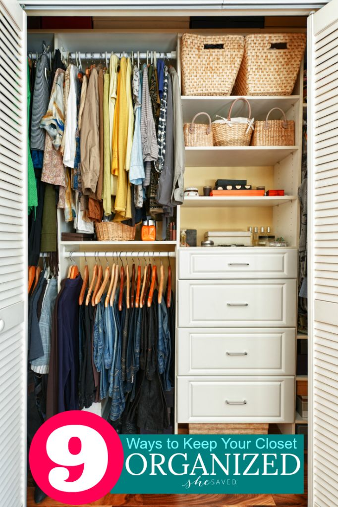 9 Ways to Achieve Closet Organization 602