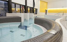 The new indoor swimming pool of Hamina is located right in the city center next to the Hamina Market place.