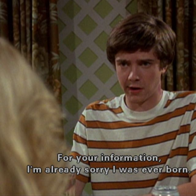 #That70sShow - Eric Forman