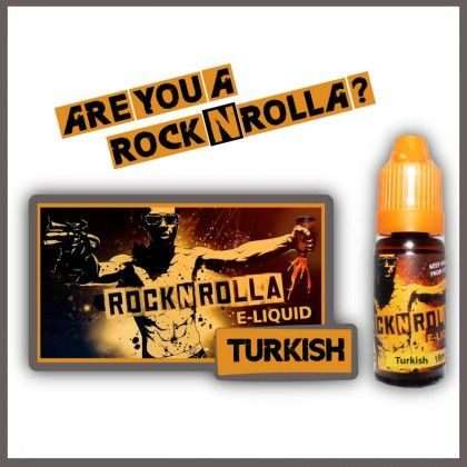 ROCKNROLLA Turkish Blended 10ml. Find out more in www.nexxton-ecig.com
