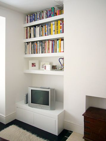 The Notebook: Alcove shelving