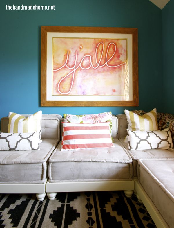 Beautiful kids room by the handmade home paint colors for Pottery barn teen paint colors