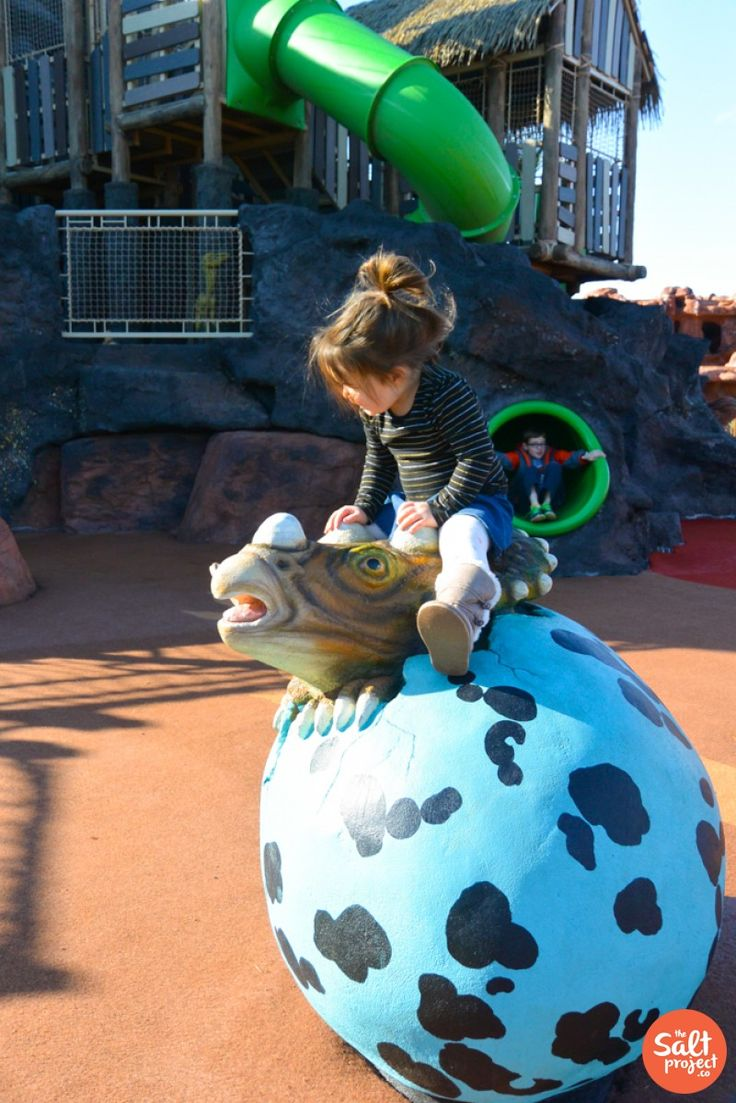 Trains, Dinosaurs, Music, Oh My! Thunder Junction Park in St. George
