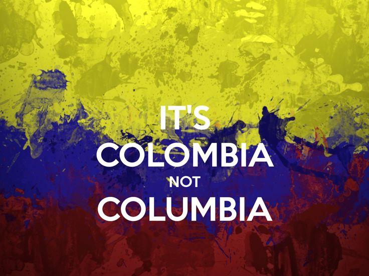 it's colombia not columbia -  C O L O M B I A  #realismomágico #cartagena #medellin #destinationevents #destinationwedding #siemprequieresvolver #colombia @s_pr_events