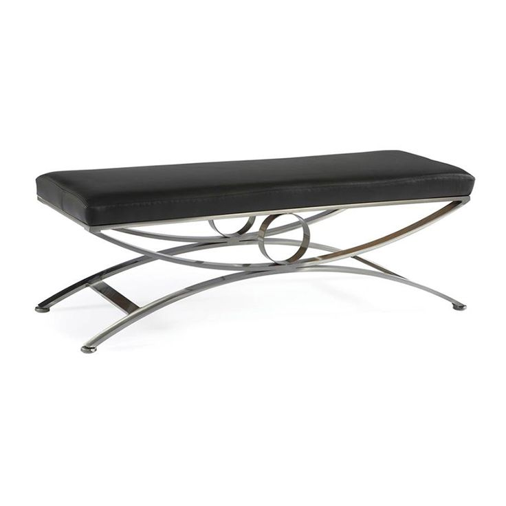The HALSTEN Bench Is A Metal Base Bench / Standard Size Only. View The  Series And Browse Duraleeu0027s Collection Of Ottomans U0026 Benches.