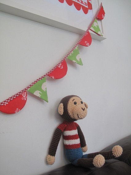 bunting for the nursery. etsy