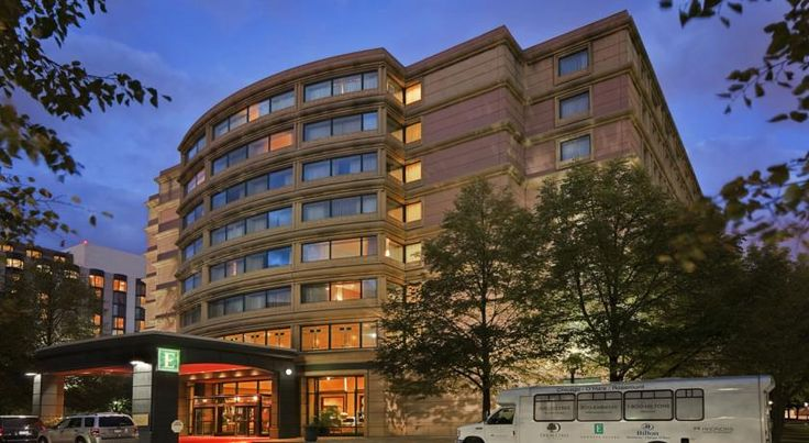 Embassy Suites Chicago - O'Hare Rosemont Rosemont Situated adjacent to the Stephens Convention Center and minutes from O'Hare International Airport with free transfers, this all-suite hotel offers many free amenities as well as spacious accommodation.