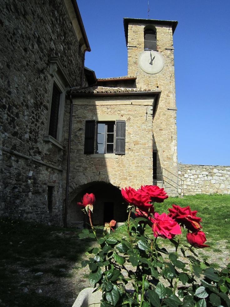 Castello di Bardi, province of Parma, Emilia Romagna region Italy