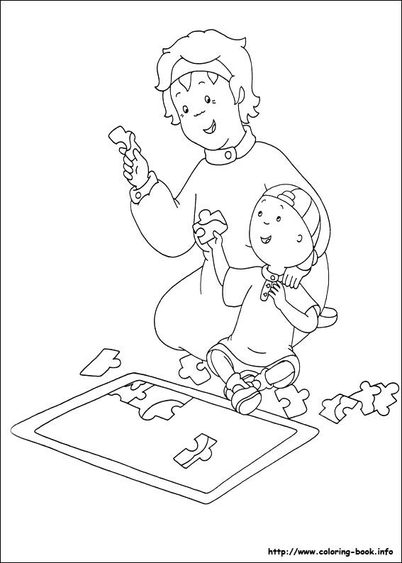 caillou coloring pages best coloring pages for kids - Caillou Gilbert Coloring Pages