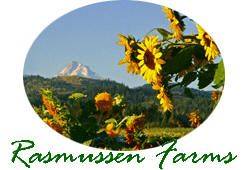 A great gift idea - Fruit Packs from Rasmussen Farms!  Flowers Fruits and much much more