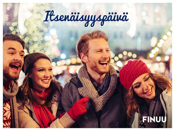 Po fińsku: Itsenäisyyspäivä! Kto zgadnie dlaczego 6. grudnia to wyjątkowy dzień dla wszystkich Finów? Podpowiadamy: Za rok przypada aż setna rocznica! ;-) #finuu #finuupl #finland #finlandia #holiday #swieto #finnishculture #independanceday #swietoniepodleglosci #celebration #tradition #tradycja