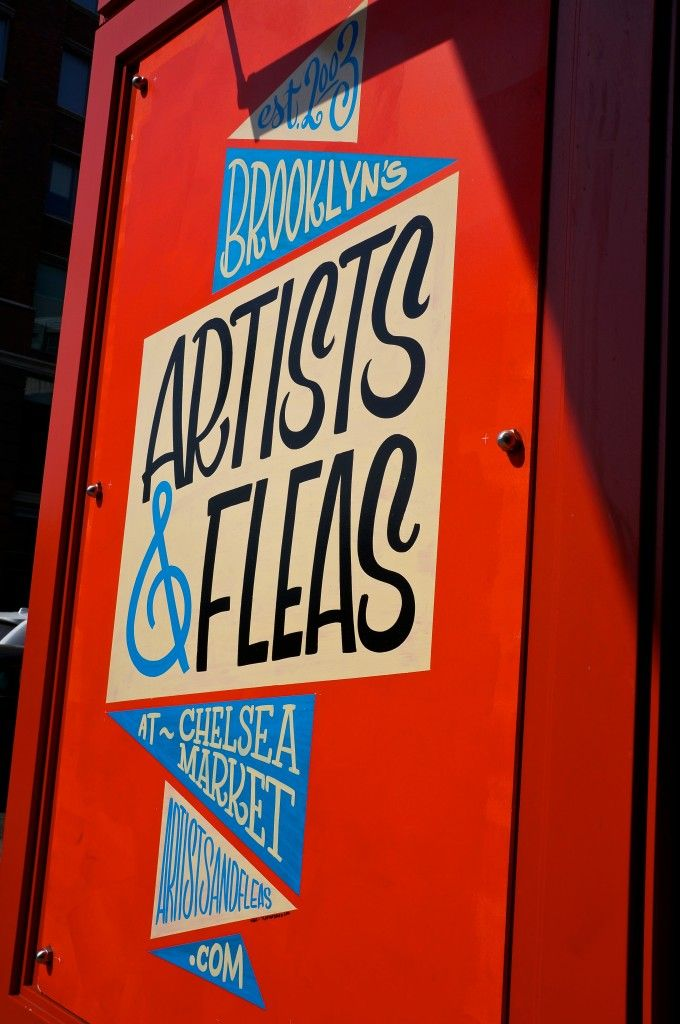My 6 favorite New York experiences: Visit Chelsea Market and the Brooklyn Artists & Fleas