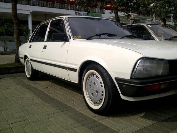 My own vintage Peugeot 505 '82