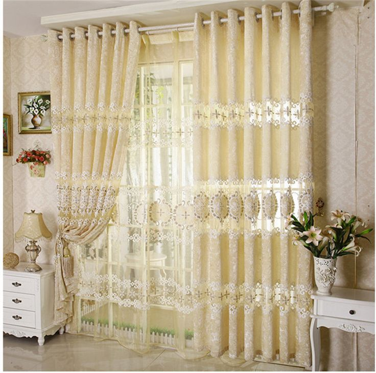 Hot home window decoration velvet embroidered curtain disk bedroom living room curtains for window 3*2.6 free shipping