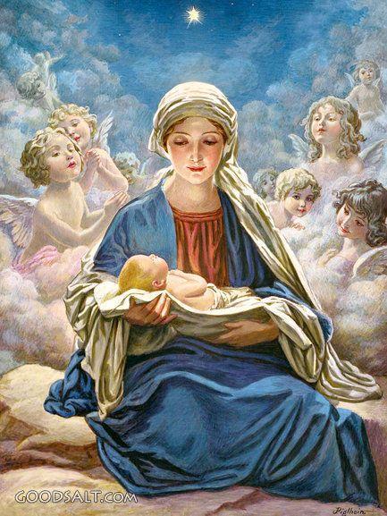 En zij bracht een zoon ter wereld, die ze Jezus noemde