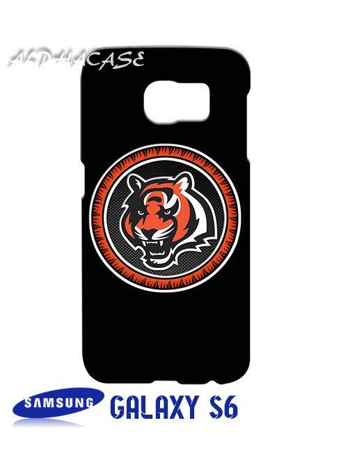 Cincinnati Bengals Logo Samsung Galaxy S6 Case Hardshell