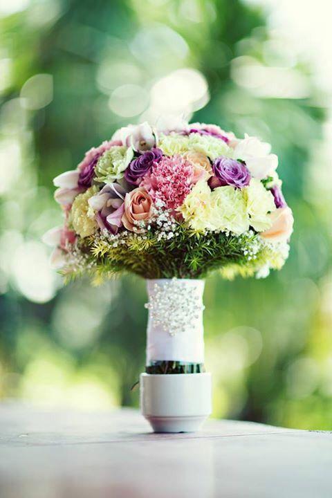 Bridal bouquet by Vrian Jeffrey Buenvenida of Wacky Productions   https://www.facebook.com/Wackyproductions/