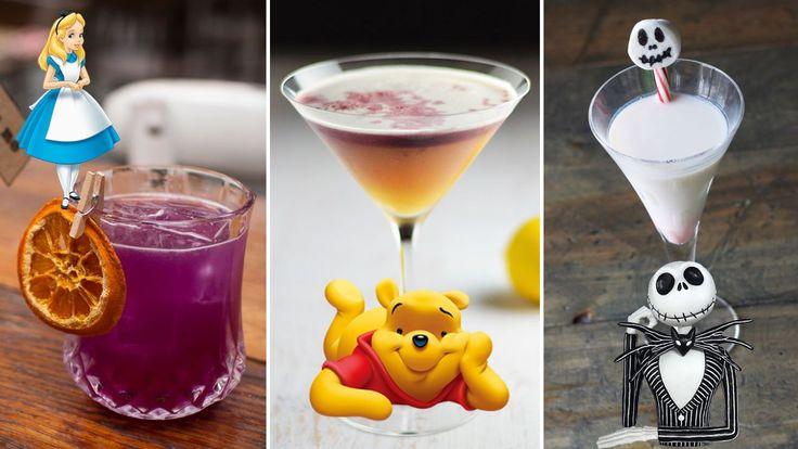 11 Disney Themed Cocktails - Our adult obsession with Disney seems to be missing one key ingredient - alcohol.
