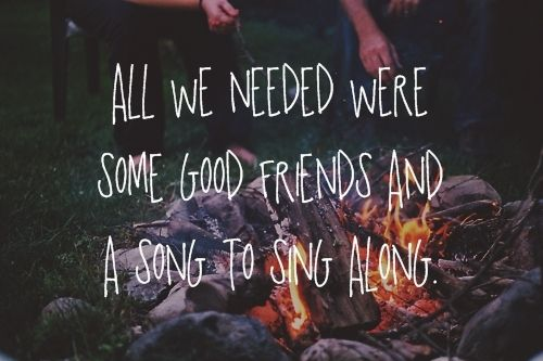 worship is good. worship around a campfire is better.