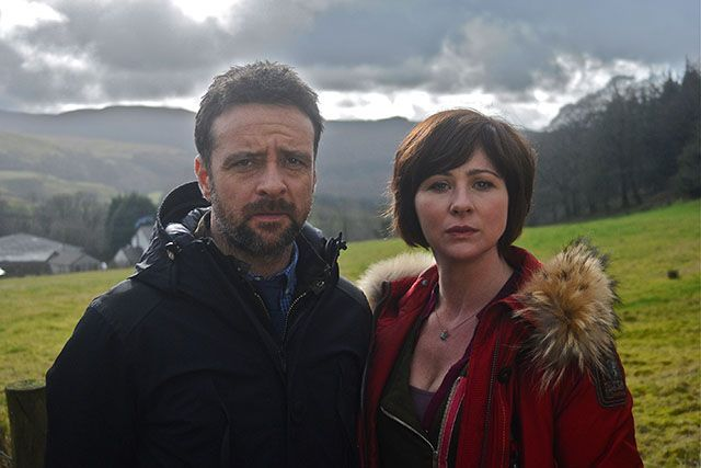 23 Of The Best British Shows You're Not Watching  #refinery29  http://www.refinery29.com/2013/12/59820/best-british-tv-shows#slide-3  HinterlandThis police drama set in Wales was the first BBC show to appear in both Welsh and English (yes, actors filmed their scenes twice). With each episode running 90 minutes long, stories tend to drag, but the culprit's identity is always a surprise. Watch it on Netflix.Pictured: Richard Harrington and Mali Harries in Hinterland...