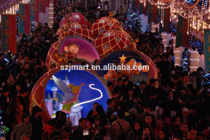 Large outdoor christmas decorations
