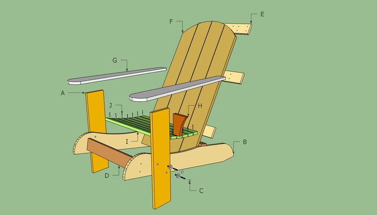 Adirondack wooden chairs designs | Adirondack Chair Plans Free