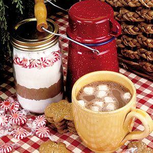 Candy Cane Hot Chocolate Mix | MyRecipes.com