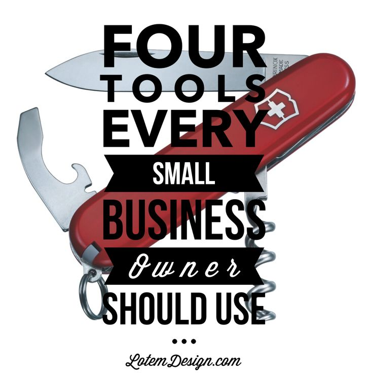 Small business tools that will help you become more efficient and productive in your online business.