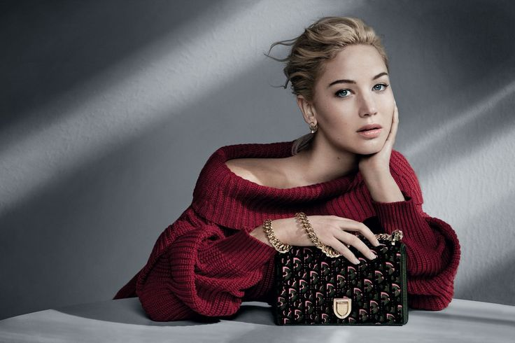JENNIFER LAWRENCE for Dior Handbags Fall/Winter 2016 Campaign