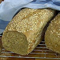 Grovt brød med gulrot