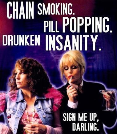 The Ab Fab Series was amazing but guess what....They're back for 3 Episodes!!!!!! YEEEESSSS!