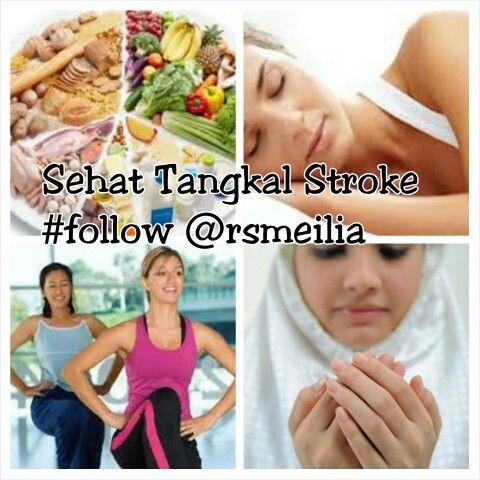 TIPS Sehat•RS Meilia Cibubur Waspadai & Cegah Stroke  •Stabilisasi Emosi •Reduksi Tekanan Mental •Konsumsi Sehat: Buah|Sayur •Takar Asupan Rendah Gula •Lakukan Relaksasi|Istirahat •Diet Rendah Garam •Stop Merokok & Alkohol •Lakukan Olahraga Rutin •Cegah Obesitas|Overweight •Konsultasi ke Dokter Anda  Inti HEALTY LIVING: P -Pikiran Tenang O -Olahraga Teratur I -Istirahat Cukup N -Nutrisi Seimbang  ------ Informasi Sehat: Emergency Unit-RS Meilia Jl Alt Cibubur Km 1-16954 Ph: 021-844-4444…