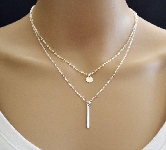 Halskette  Die besten 25+ Zierliche halskette Ideen auf Pinterest | einfacher ...
