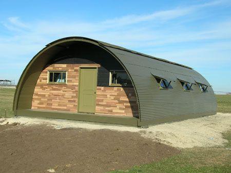 atten hut reviving wwii quonset huts alternative housing. Black Bedroom Furniture Sets. Home Design Ideas