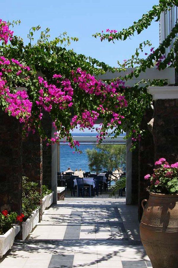 ~ Sea view, Kamari Beach, Santorini, Greece ~